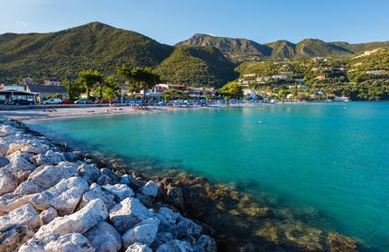 Ipsos beach, Corfu